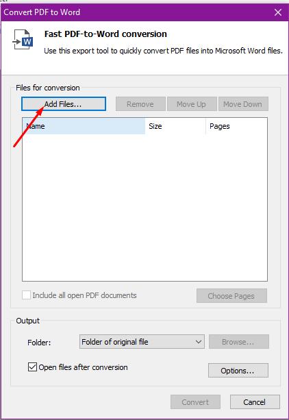 Phần mềm chuyển đổi/convert PDF sang word không lỗi font tốt nhất 2