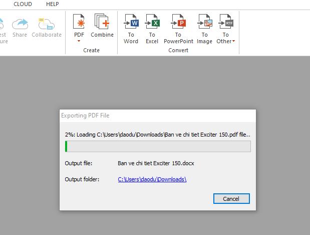 Phần mềm chuyển đổi/convert PDF sang word không lỗi font tốt nhất 4