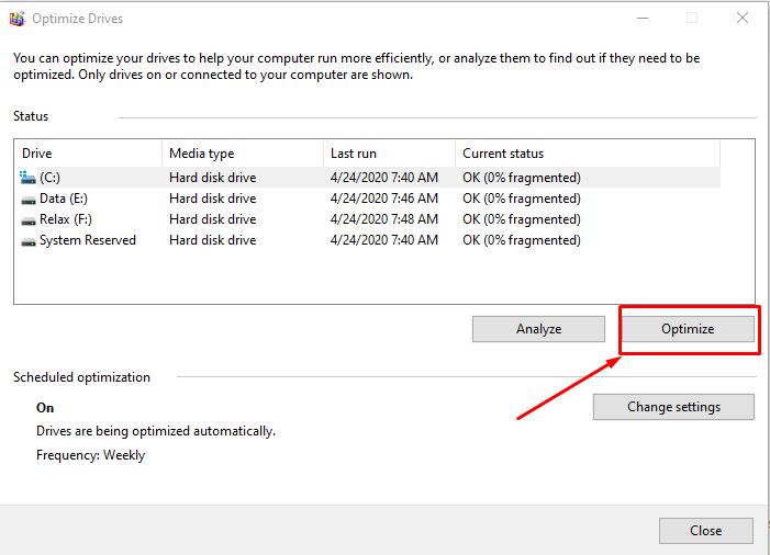 Sửa lỗi Full Disk 100% trên Windows thành công 100% 29
