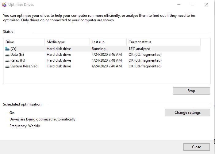 Sửa lỗi Full Disk 100% trên Windows thành công 100% 30