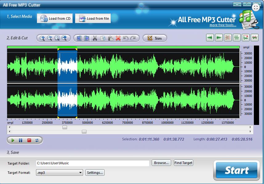 Top 5 phần mềm cắt, ghép nhạc miễn phí tốt nhất 3