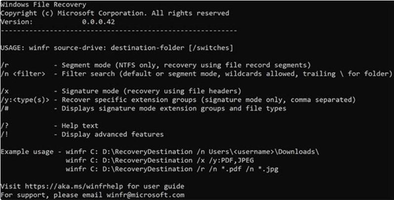Windows File Recovery: Ứng dụng khôi phục dữ liệu miễn phí của Microsoft 1