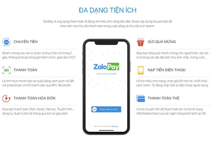 ZaloPay là gì? Cách đăng ký tạo nhanh một tài khoản ZaloPay 1